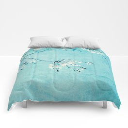 cherryblossoms Comforters
