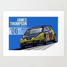 James Thompson - 2006 Monza Art Print
