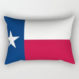 Lone Star ⭐ Texas State Flag Rectangular Pillow