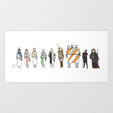 monty python and the holy grail Art Print