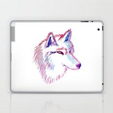 Wolf Watercolor Print Laptop & iPad Skin