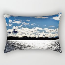 Water | Lake Ontario | Landscape | Toronto | Nadia Bonello Rectangular Pillow
