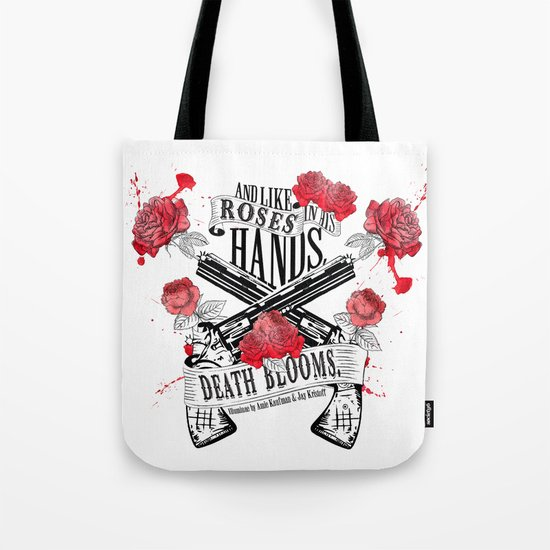 Illuminae - Death Blooms Tote Bag