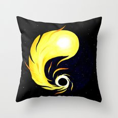 Temporary Balance Throw Pillow