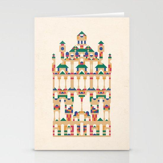 Block Façade Stationery Cards