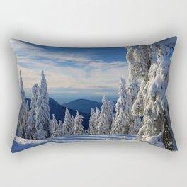 Cypress Mtn, Vancouver. Rectangular Pillow