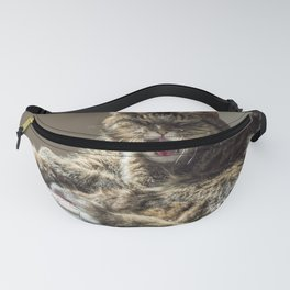 The laughing cat Fanny Pack