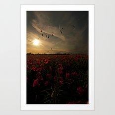 Field of memories  Art Print