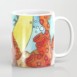 Mermaid Marina - Circle  Coffee Mug