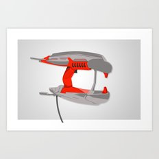 plasma zapper. Art Print