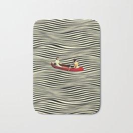 Illusionary Boat Ride Bath Mat