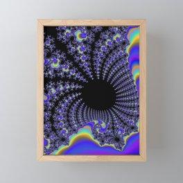 Fascinating Fractal Framed Mini Art Print