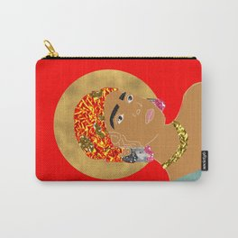 Mary in Red Carry-All Pouch