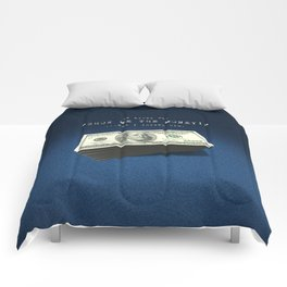 Show Me The Money - USD on Jeans Comforters