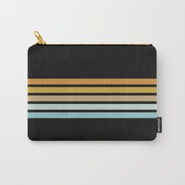 Retro Sunshine Stripes Carry-All Pouch