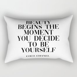coco quote Rectangular Pillow