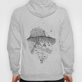 A cabin in the woods Hoody
