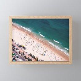 Day of Beach Framed Mini Art Print