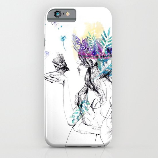 Nature Girl iPhone & iPod Case