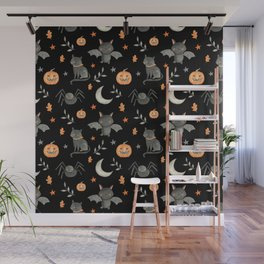 HALLOWEEN PARTY Wall Mural