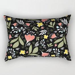 Spring Flowers Style Q Rectangular Pillow