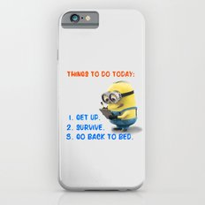 MINION: THINGS TO DO TODAY - orange version -  iPhone 6s Slim Case