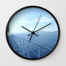 Jamaica from the Ship Wall Clock
