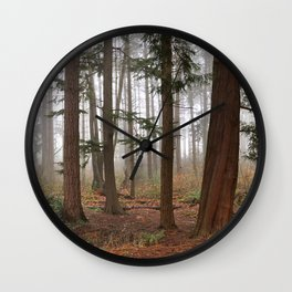 City Forest Wall Clock