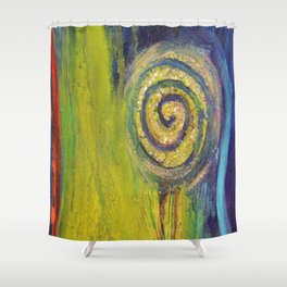 Inner Garden 2 Shower Curtain