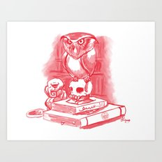 Magic Owl  Art Print