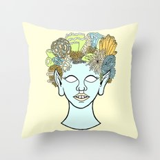URCHIN Throw Pillow