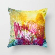 Fireworks - JUSTART Throw Pillow