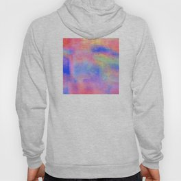 Where There's Life, There's Hope: Abstract Design Hoody