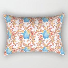 Autumn Origami Paper Crane Rectangular Pillow