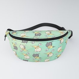 Confused Cockatiel - Pattern Fanny Pack