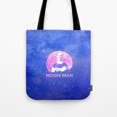 Moon Man Tote Bag