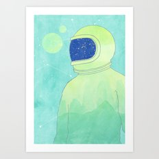 Wanderer Within Art Print
