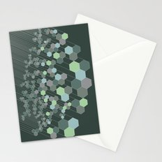 Hexagonal / cool Stationery Cards
