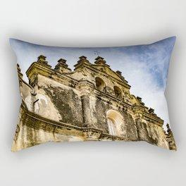 View of the Top of the Catholic Church Iglesia La Merced, Granada, Nicaragua Rectangular Pillow