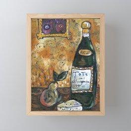 Klimt's Kitchen Framed Mini Art Print