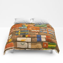 flags Wall Comforters