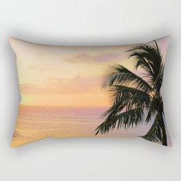 Maui Sunset Rectangular Pillow