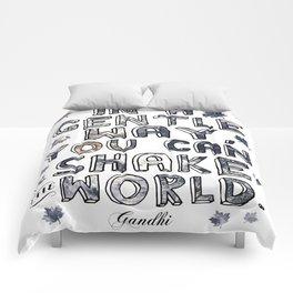 You Can Shake the World II Comforters