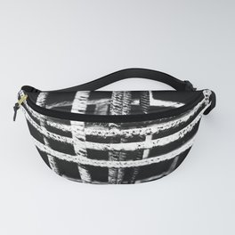Rebar And Brick - Industrial Abstract Fanny Pack