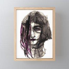 The memory Framed Mini Art Print