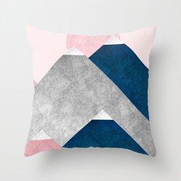 Modern Mountain No2-P2 Throw Pillow