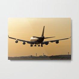 Thai Airways Boeing 747-4D7/ER Metal Print