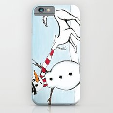 Canine Christmas (Snowman) iPhone 6s Slim Case