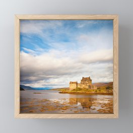 Eilean Donan Castle, Scotland Framed Mini Art Print