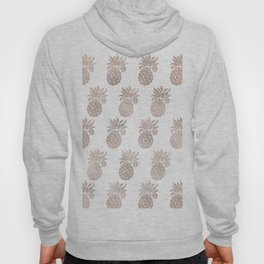 Rose gold pineapples Hoody